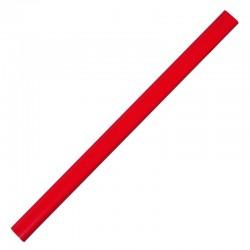 Ołówek stolarski, czerwony