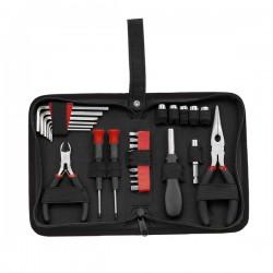 Zestaw narzędzi Expand, czarny/czerwony