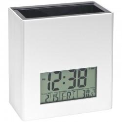 Organizer biurkowy z zegarkiem i termometrem