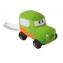 Maskotka Lovely Car, zielony/pomarańczowy