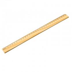 Linijka 30 cm, brązowy