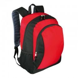 Plecak Duluth, czerwony/czarny