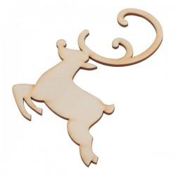 Ozdoba choinkowa Reindeer, brązowy