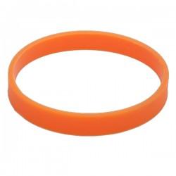 Ozdobna opaska na kubek izotermiczny, pomarańczowy
