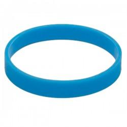 Ozdobna opaska na kubek izotermiczny, jasnoniebieski