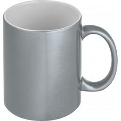 Kubek ceramiczny- metalik