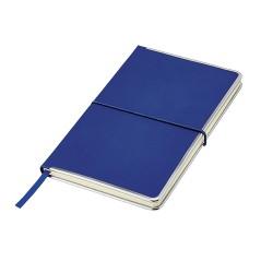Notes A5 z metalowymi krawędziami i kieszenią