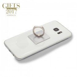 Uchwyt lub podstawka do telefonu Mobile Guard, srebrny