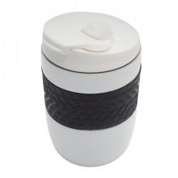 Kubek izotermiczny Offroader 200 ml, biały
