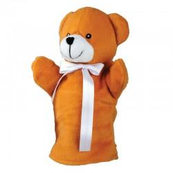 Pacynka Teddy Bear, brązowy