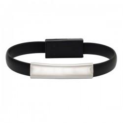 Kabel USB Bracelet, czarny