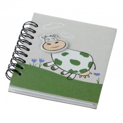 Notes 87x97/50k linia Funny Cow, zielony/szary