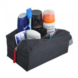 Kosmetyczka Travelbuddy, czarny/szary