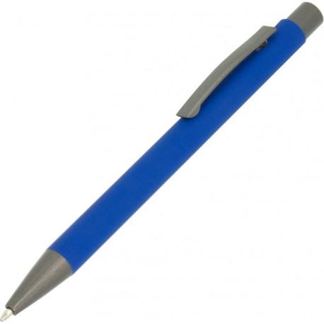Długopis metalowy gumowany