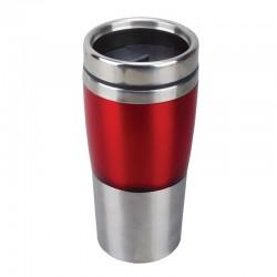 Kubek izotermiczny Resolute 380 ml, czerwony/srebrny