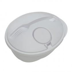 Pojemnik na sałatkę Veggy, biały