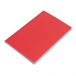 Notatnik 140x210/40k gładki Fundamental, czerwony
