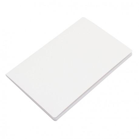 Notatnik 140x210/40k gładki Fundamental, biały