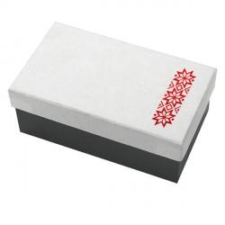 Świąteczny zestaw świec zapachowych, biały
