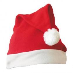 Dziecięca czapka świąteczna, czerwony/biały