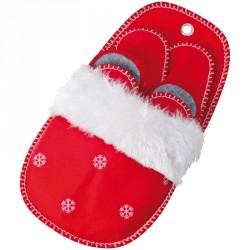 Zestaw świątecznych kapci