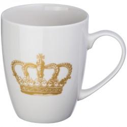 Kubek porcelanowy z koroną