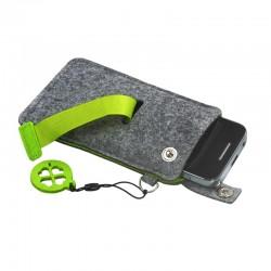 Etui na smartfona Eco-Sense, zielony/szary