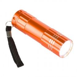 Latarka LED Jewel, pomarańczowy