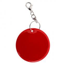 Brelok odblaskowy Reflect, czerwony