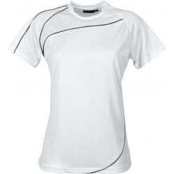 T-shirt RILA WOMEN M Schwarzwolf