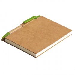 Notes Eco La Linea, zielony