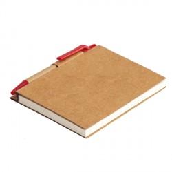 Notes Eco La Linea, czerwony
