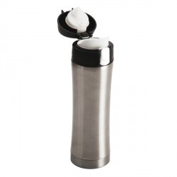 Kubek termiczny Secure 400 ml, srebrny