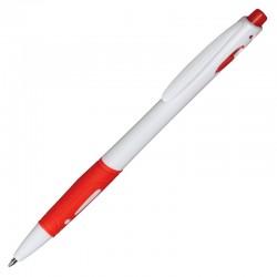 Długopis Rubio, czerwony/biały