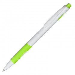 Długopis Rubio, zielony/biały