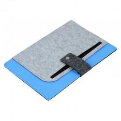 Teczka na tablet Eco-Sense, niebieski/szary