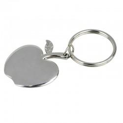 Brelok metalowy Apple, srebrny