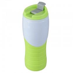 Kubek izotermiczny Snag 400 ml, zielony/biały