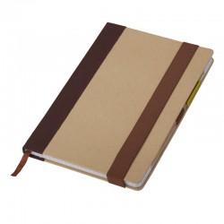 Notes z długopisem Murcia, brązowy
