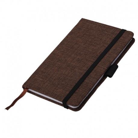 Notes 90x140/80k kratka Pampeluna, brązowy