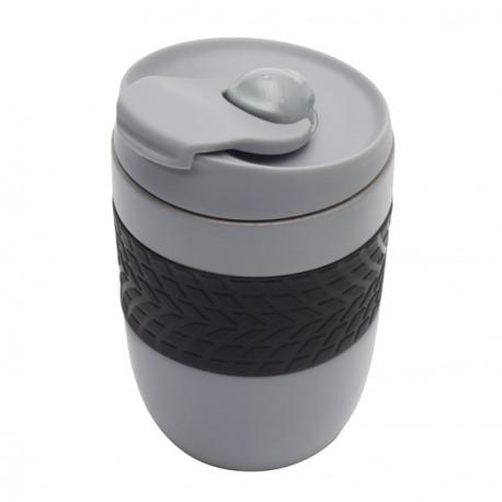 Kubek izotermiczny Offroader 200 ml, szary - druga jakość