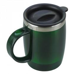 Kubek izotermiczny Barrel 400 ml, zielony - druga jakość