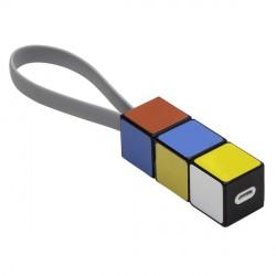 Kabel USB Color click&go, mix