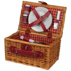 Kosz piknikowy dla dwóch osób