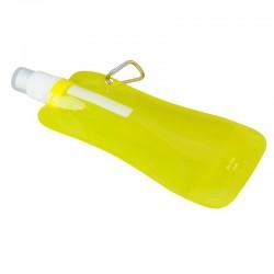Składany bidon Extra Flat 480 ml, żółty