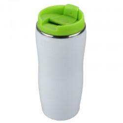 Kubek izotermiczny Astana 350 ml, zielony/biały