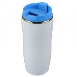 Kubek izotermiczny Astana 350 ml, niebieski/biały