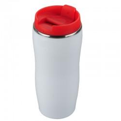 Kubek izotermiczny Astana 350 ml, czerwony/biały