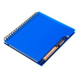 Notes Curly, niebieski