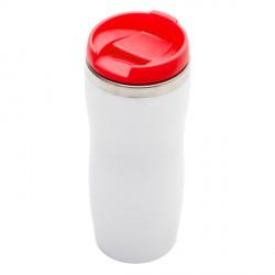 Kubek izotermiczny Askim 350 ml, czerwony